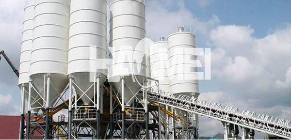 Construction Cement Batching Plant