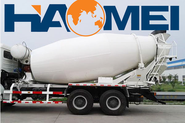 Concrete mixer truck dimensions and capacity